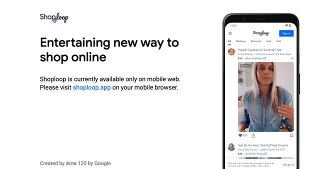 Google Shoploop