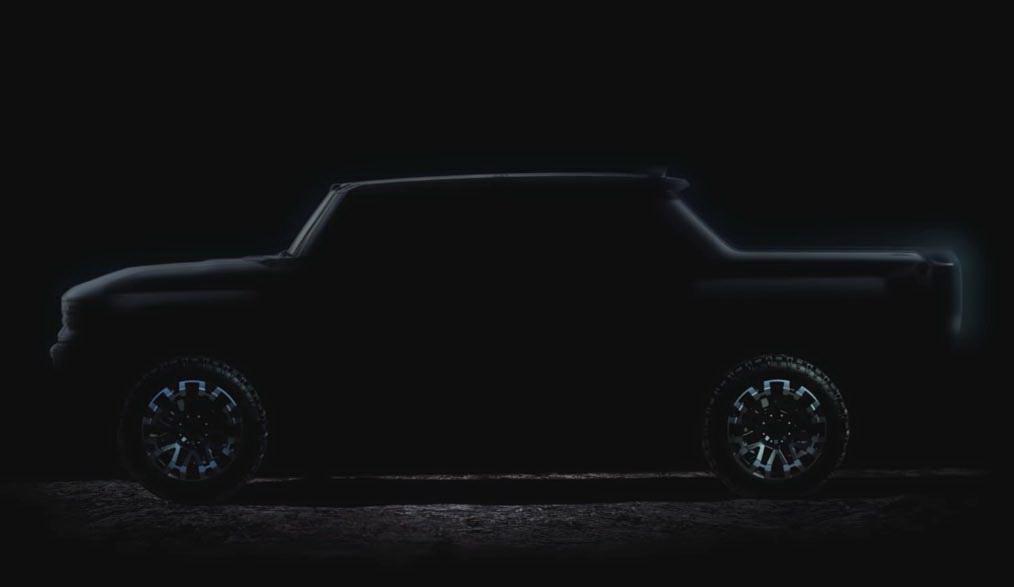 圖/通用汽車公布悍馬電動皮卡宣傳片,NBA球星Lebron James現身助陣。