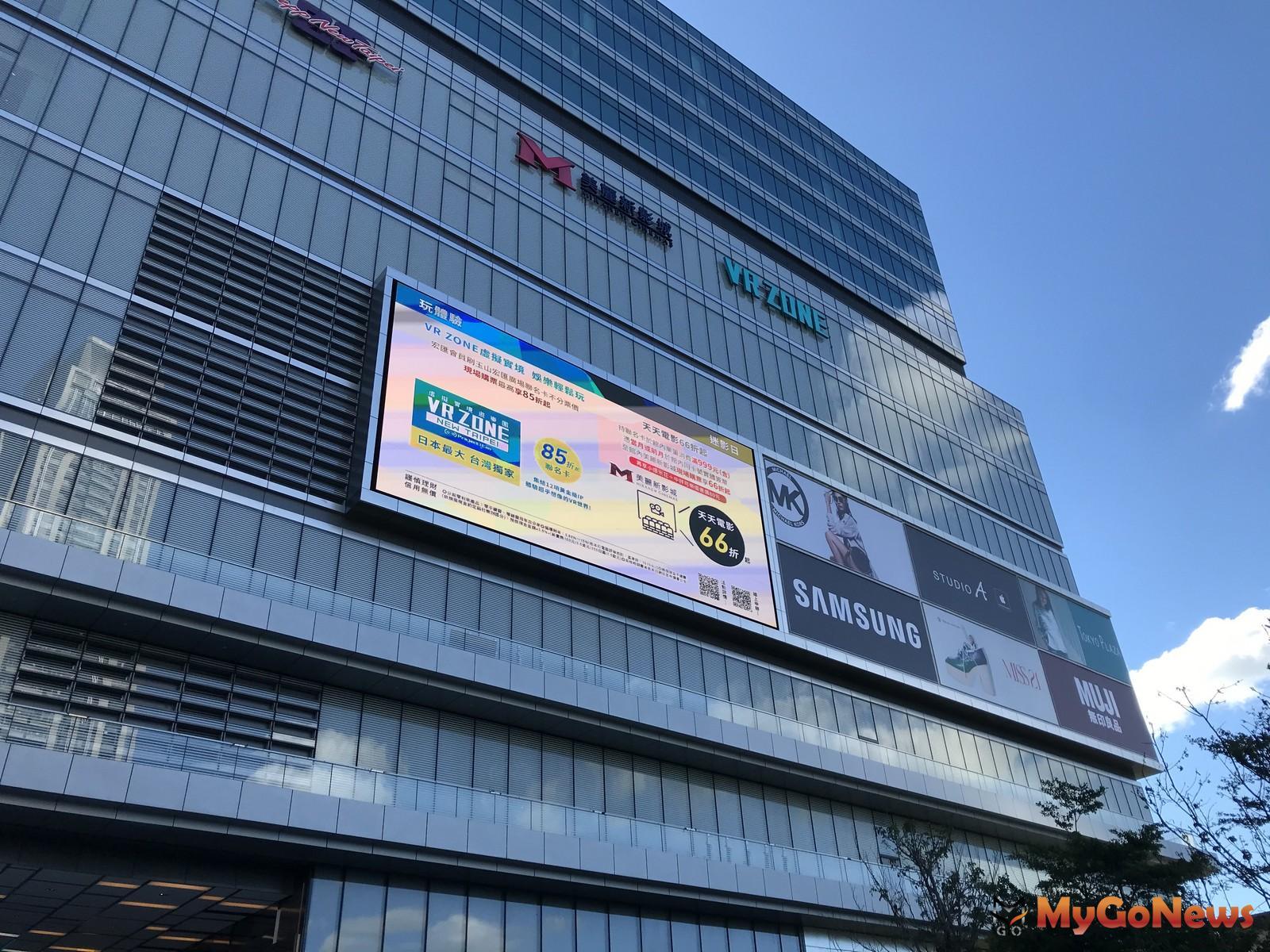 ▲新北最大百貨「宏匯廣場」,全客層生活商場,31日起試營運