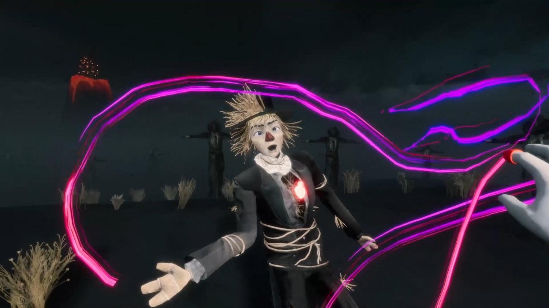 沈浸式劇場作品〈拯救稻草人〉利用多種VR技術,讓觀眾進入魔幻淒美的劇場世界展開冒險