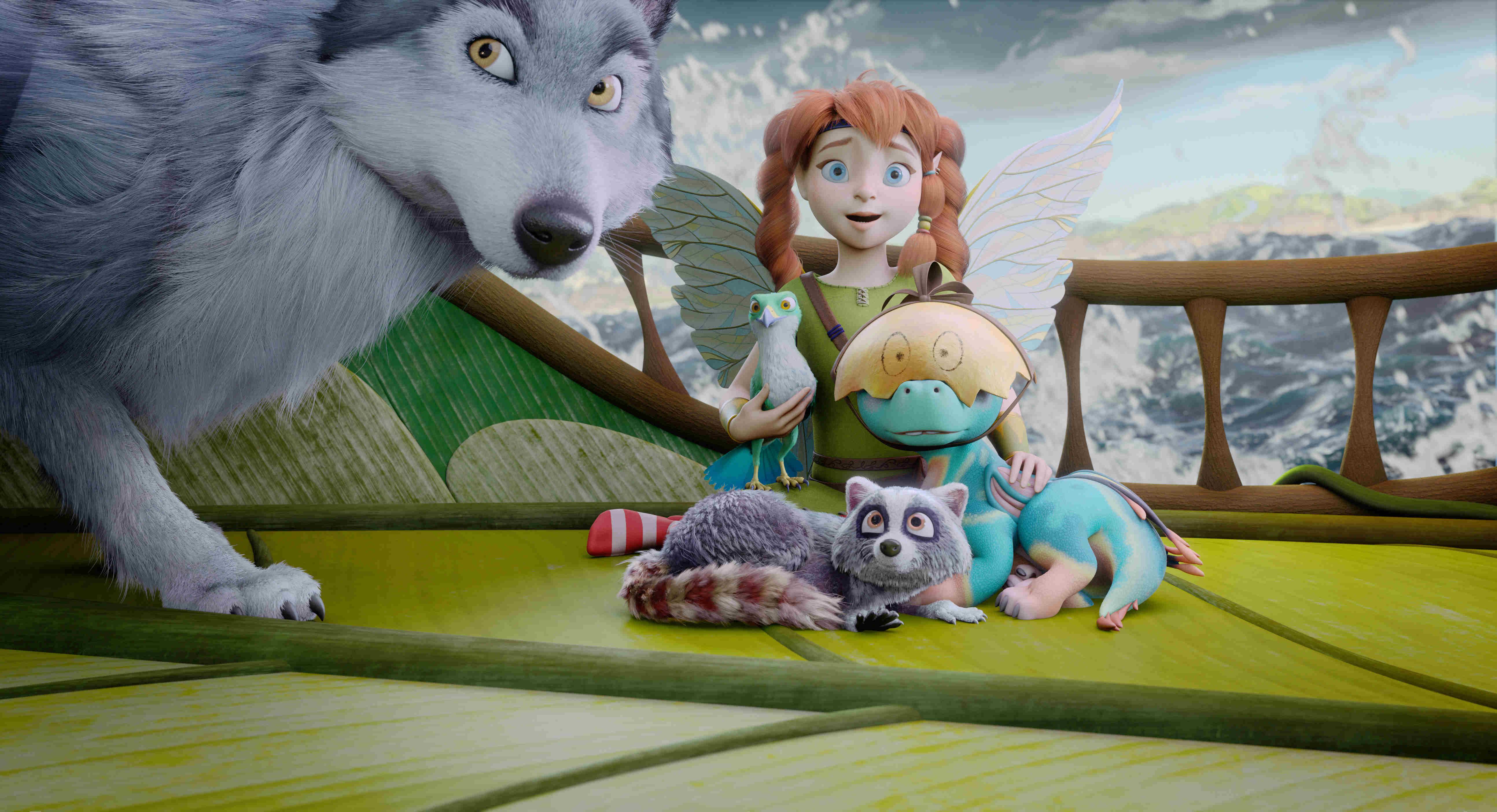《巴亞拉魔幻冒險》片中「0台詞」的動物們,吸睛度一點不輸精靈