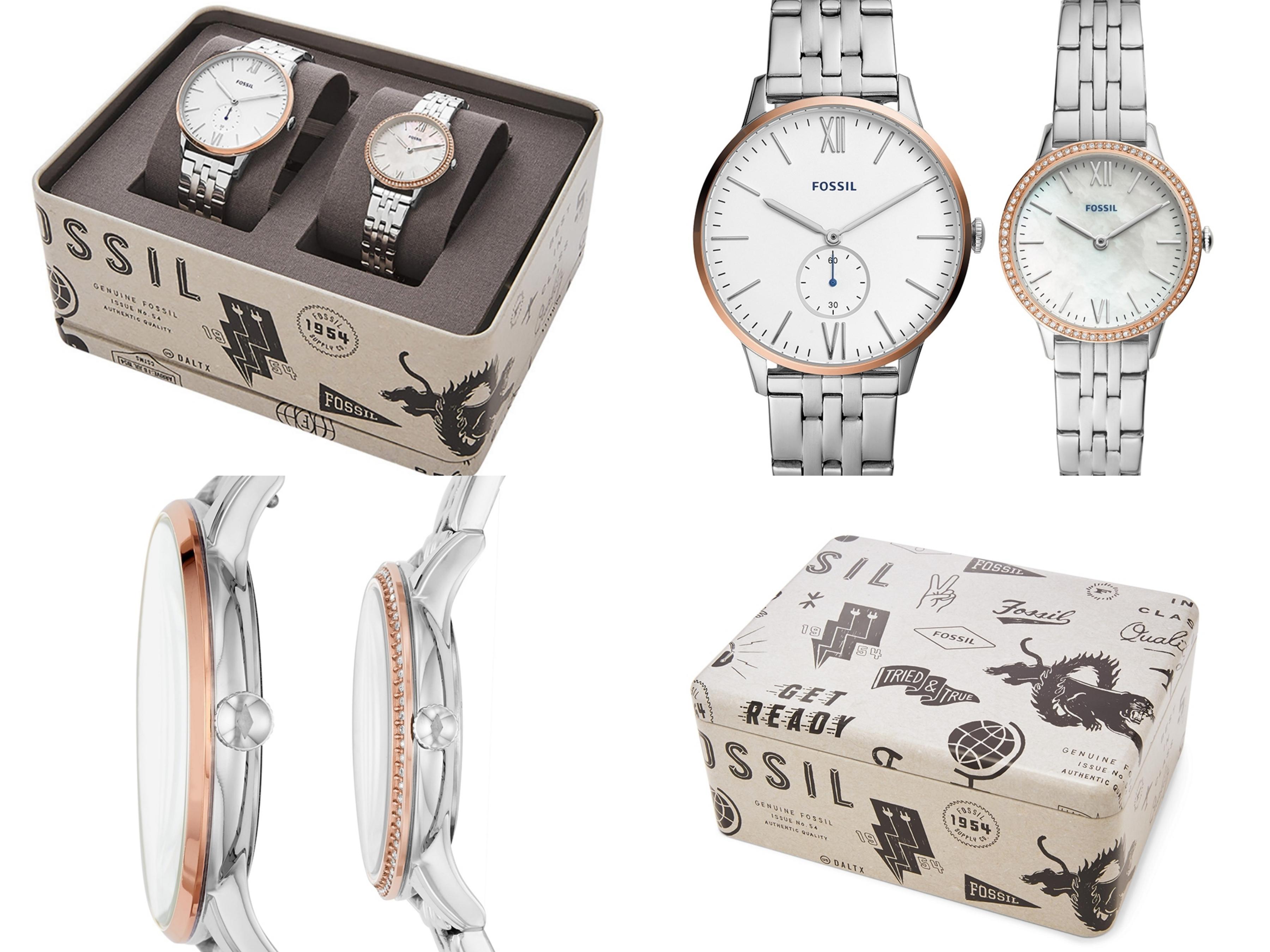 男女錶款都以簡潔的側面圓潤造型,配戴起來更舒適