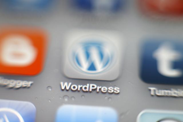 Creative / Feature: WordPress-App auf einem iPhone (Photo by Hoch Zwei/Corbis via Getty Images)
