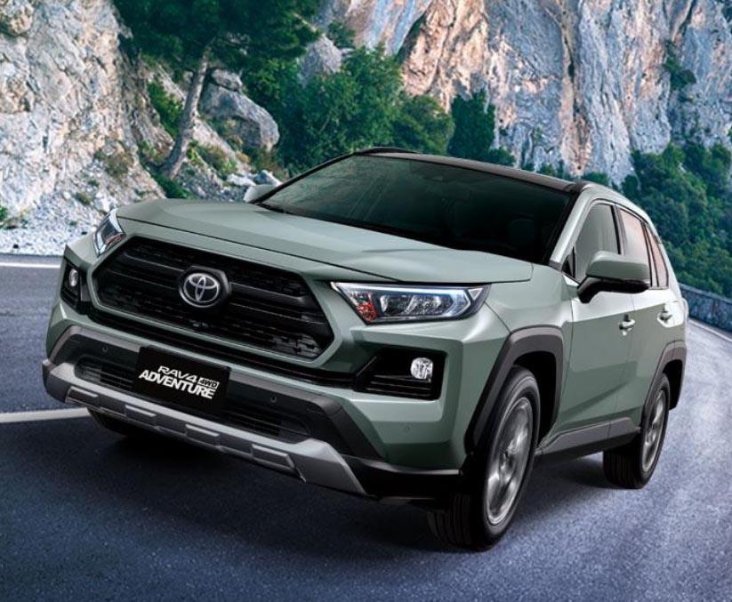 圖/一般進口車榜單部份,人氣休旅車Toyota RAV4展現強勁的銷售力道,最終賣出誇張的3,961輛。