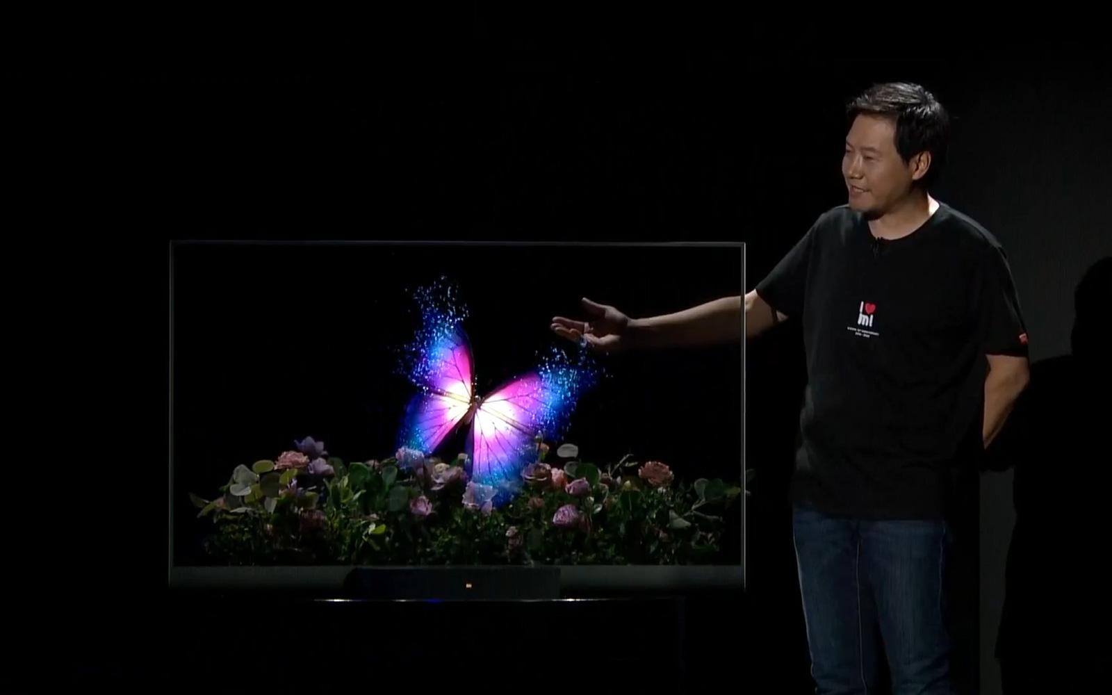 小米透明電視