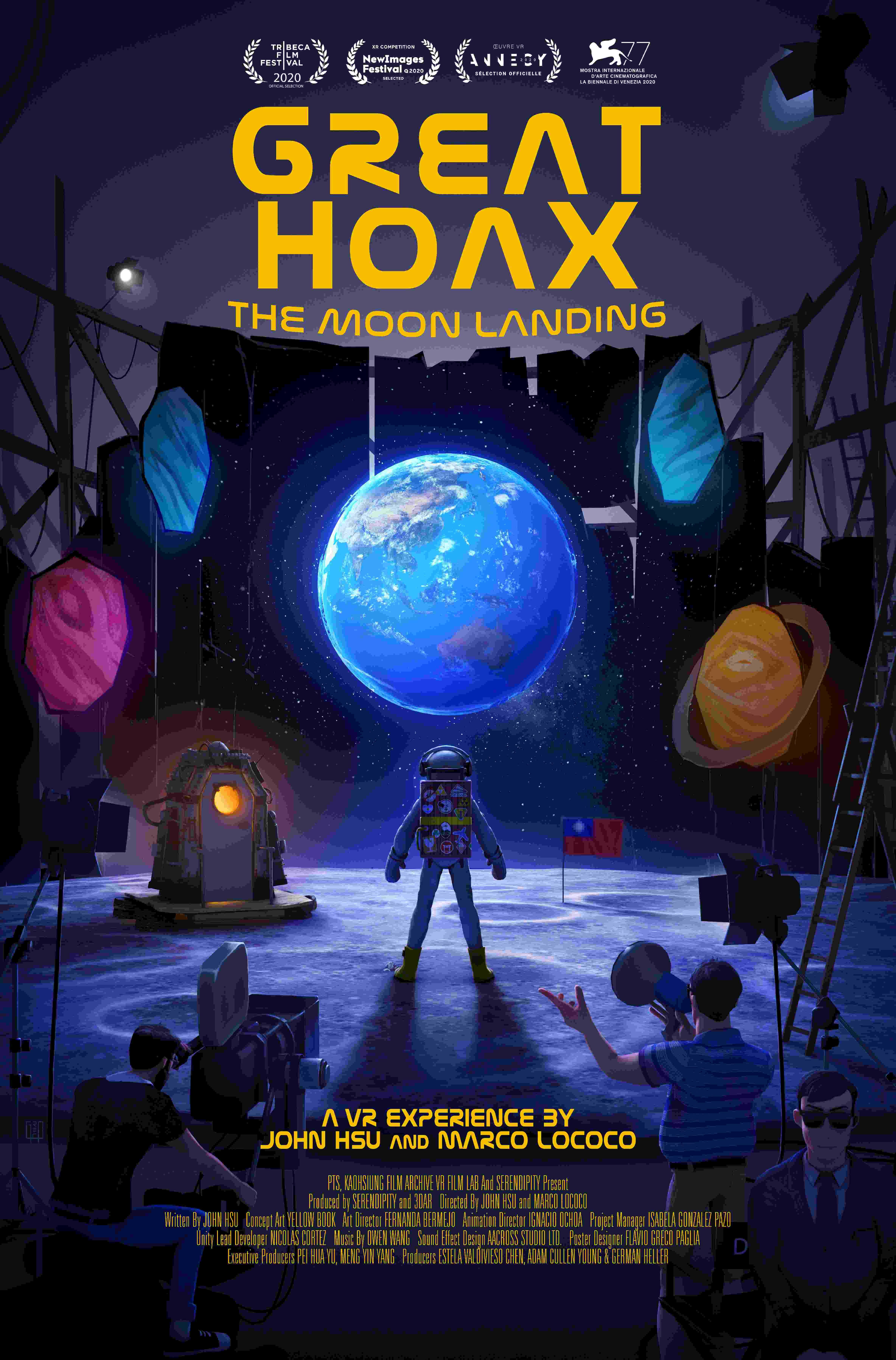 綺影映畫、希望行銷提供:《星際大騙局 之 登月計劃》國際版海報