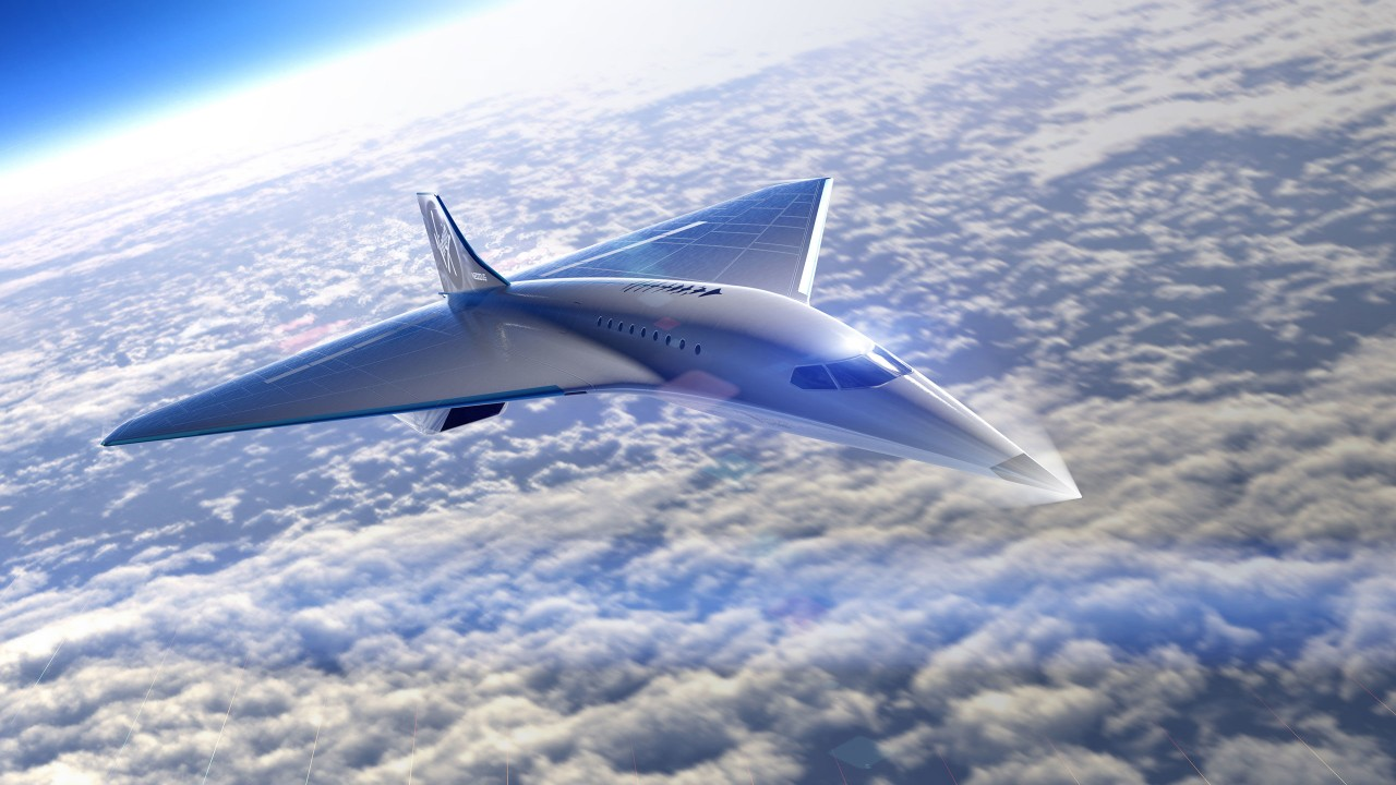 Virgin Galactic Mach 3 aircraft
