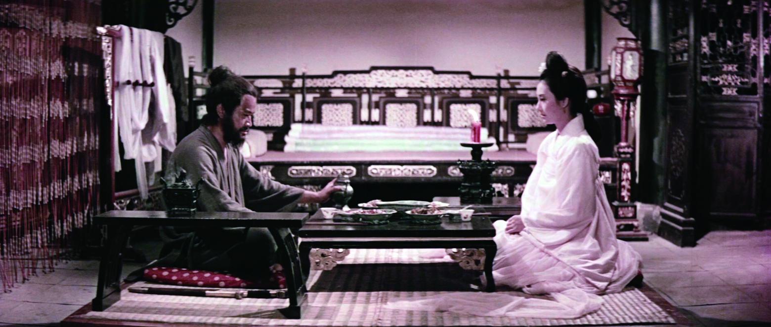 《喜怒哀樂》為胡金銓、李翰祥、白景瑞、李行四位導演合作拍攝的四段古裝短篇故事之作,由影視聽中心於2013年修復完成