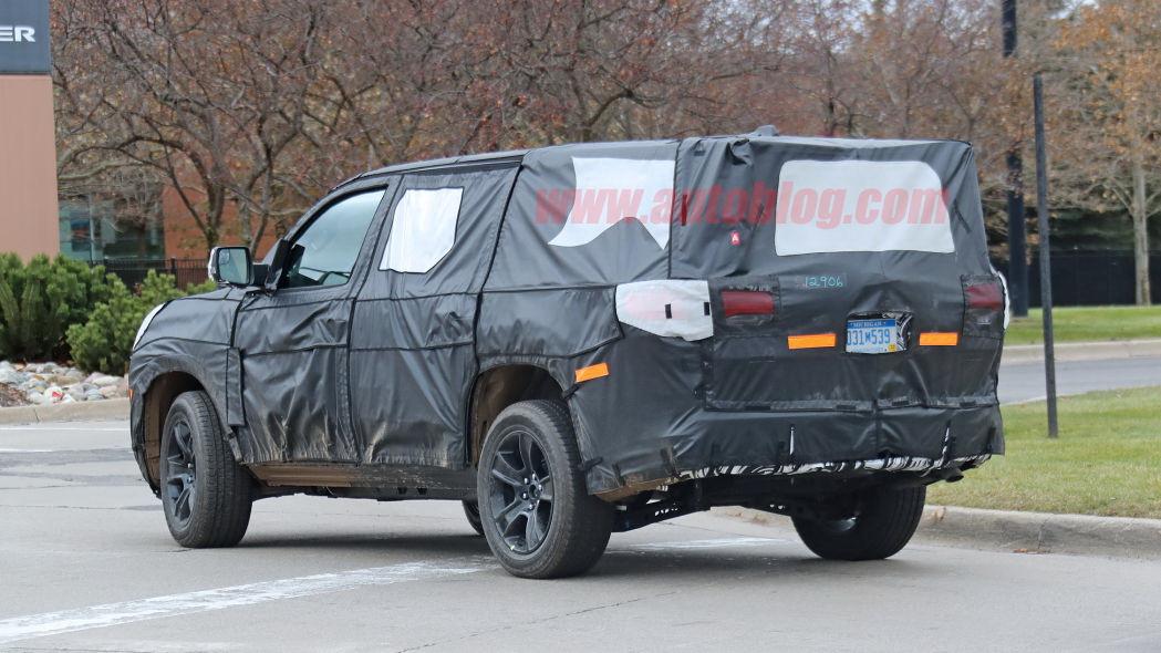 圖/2022 Jeep Grand Wagoneer以Ram 1500為基礎,因此會採用相同的動力總成,布局部份提供6人座與7人座兩種選項。