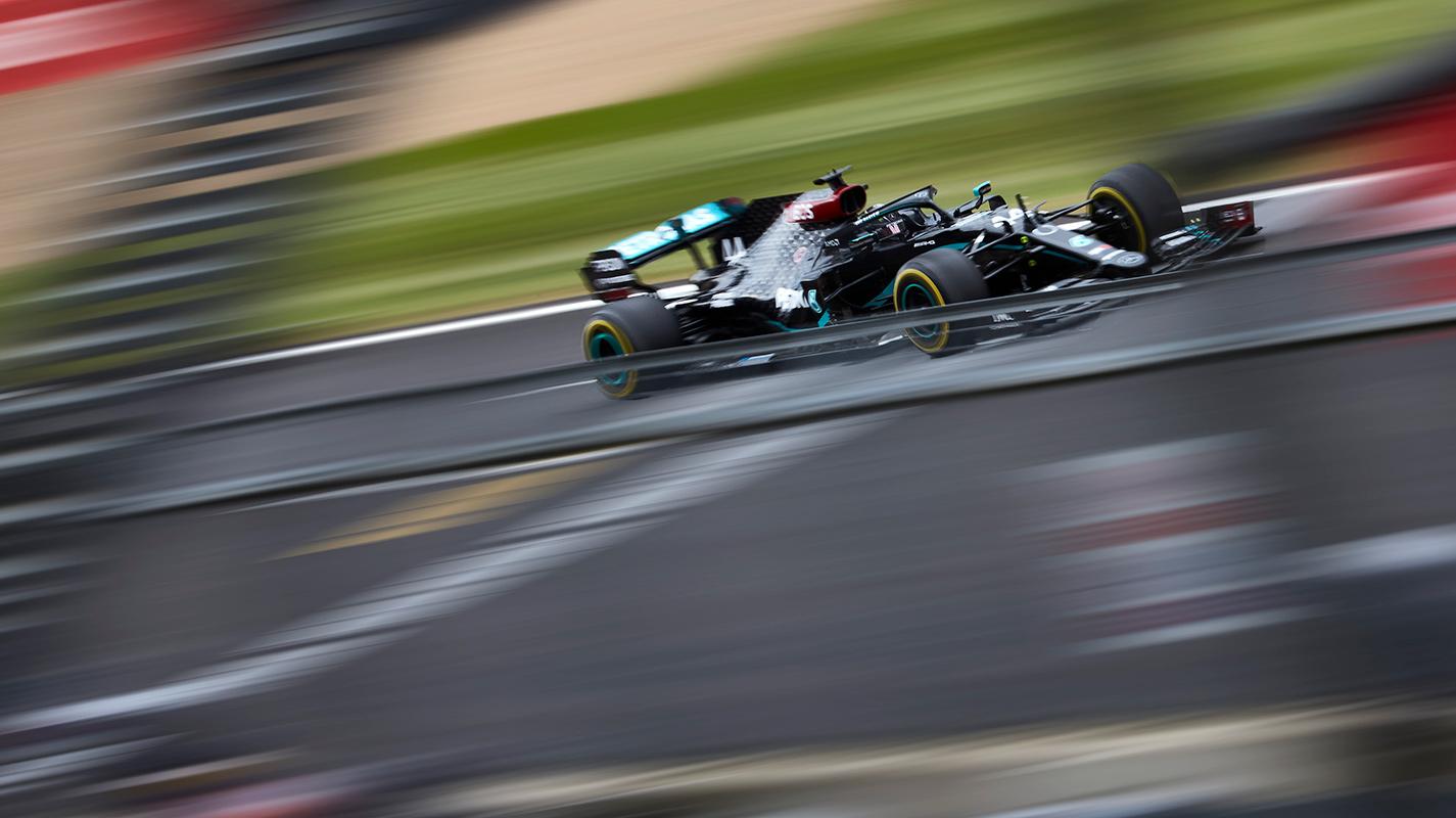 70週年GP自由練習三仍為Mercedes車手主宰