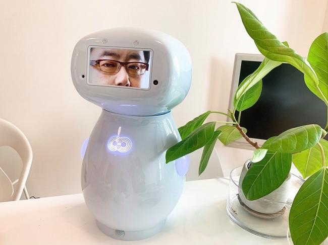 接客応対ロボットcinnamon