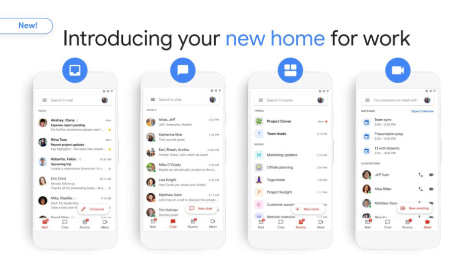 Photo of Now available for integrated Gmail and G Suite users. Communication hub for email, chat, meetings, etc.– Engadget Japan