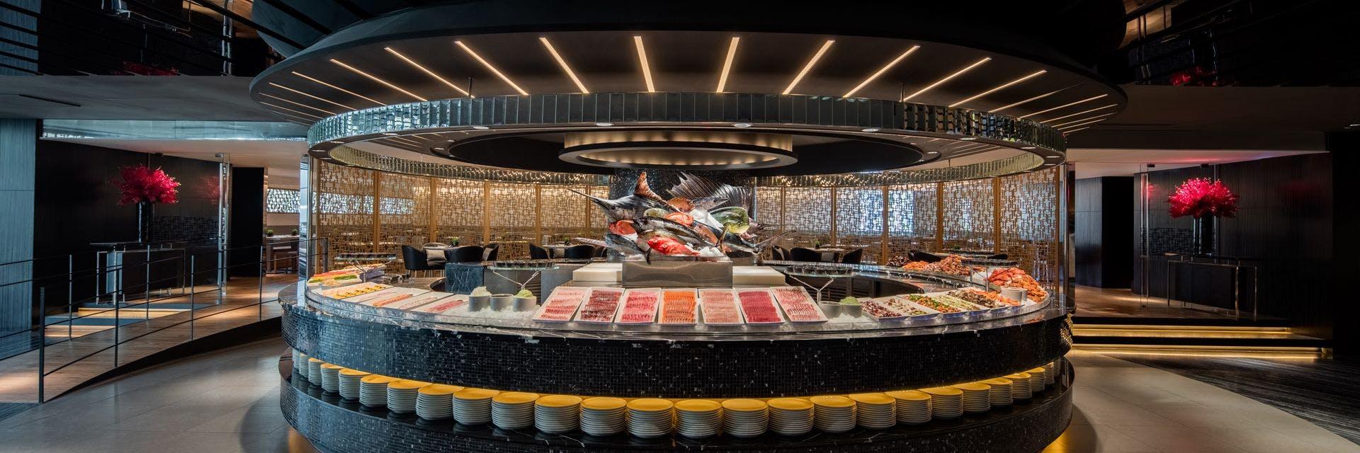 海鮮百匯吧集美感、鮮度和美味於一體!
