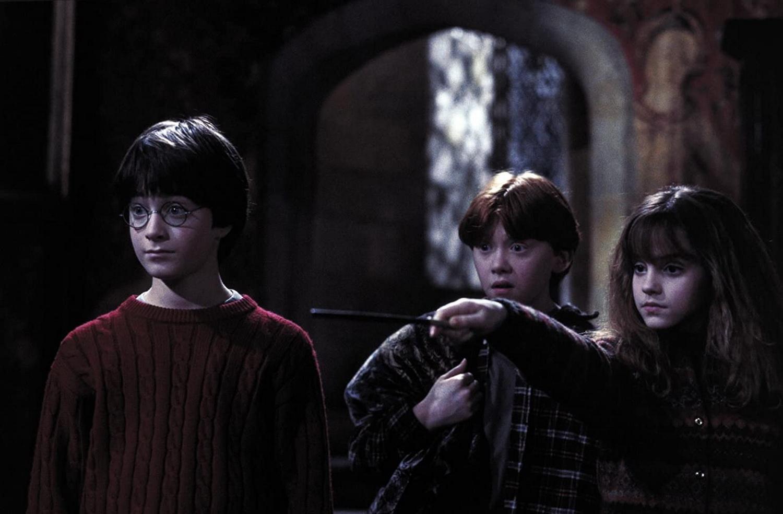 《哈利波特:神秘的魔法石》