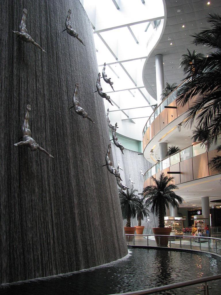 潛水者噴泉(Photo by Peter Dowley from Dubai, United Arab Emirates, License: CC BY 2.0, 圖片來源www.flickr.com/photos/pedronet/3980640721)