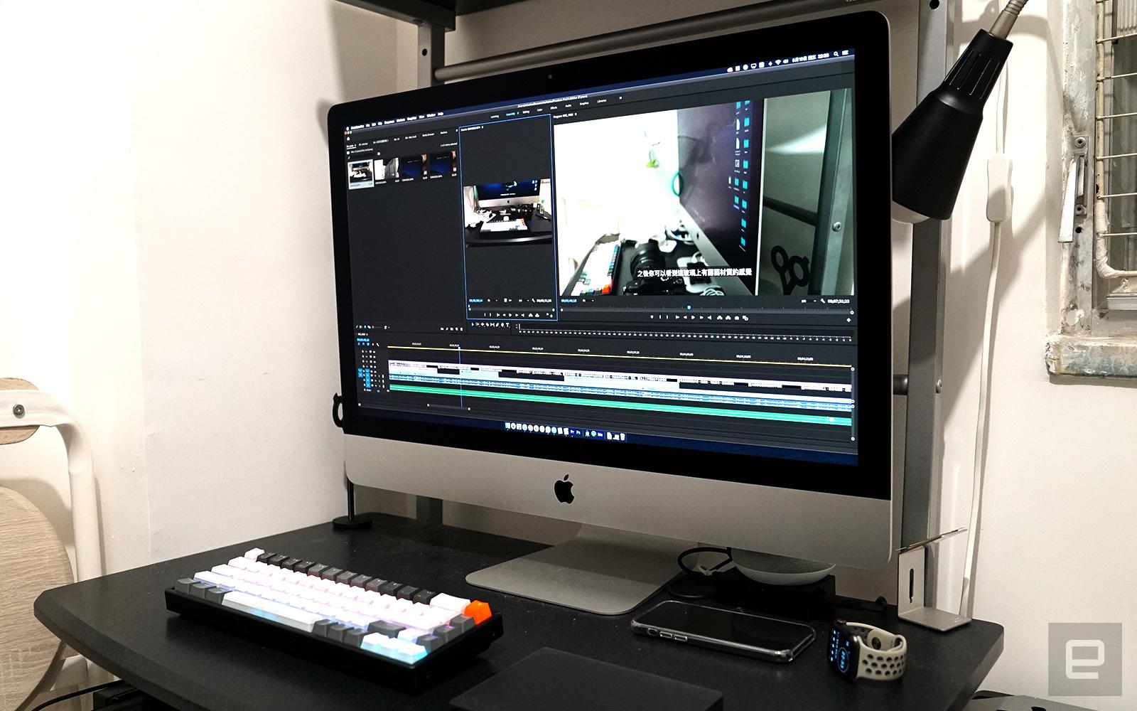 iMac 27 吋(2020)開箱動手玩:來好好善待你的眼