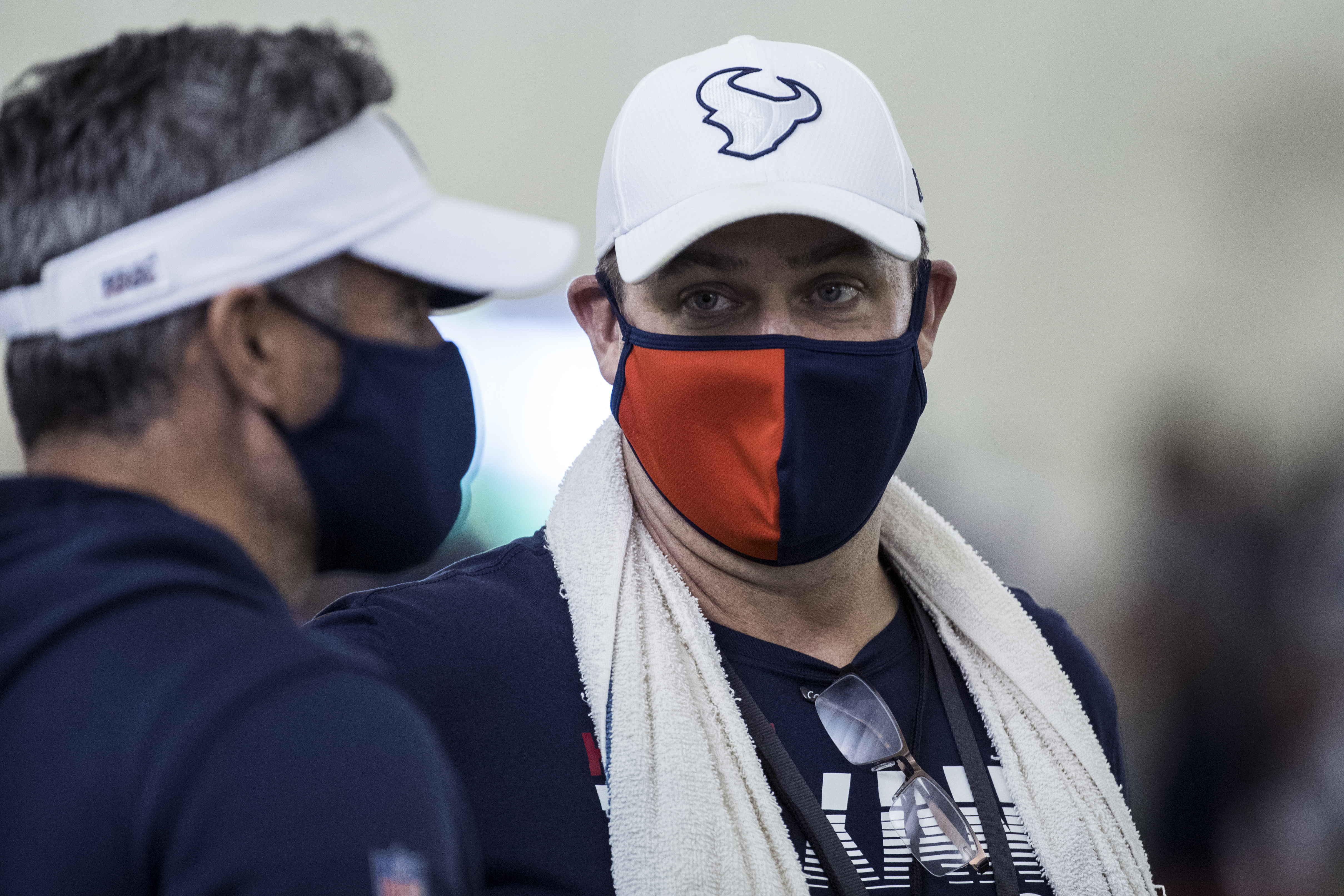 Houston Texans head coach Bill O'Brien enters a critical season. (Brett Coomer/Houston Chronicle via AP)