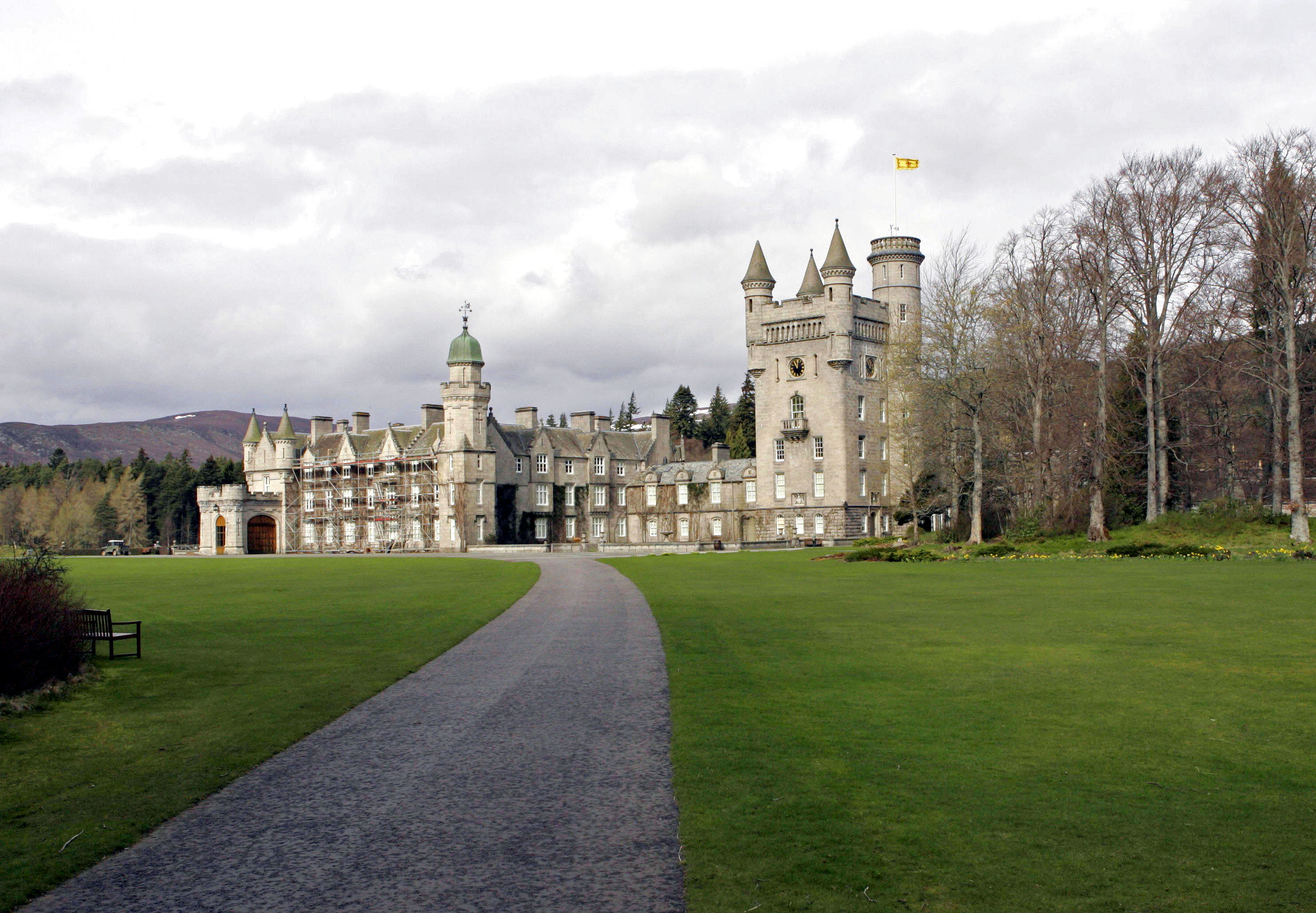 Balmoral Castle & Estate. . (Photo by Mark Cuthbert/UK Press via Getty Images)