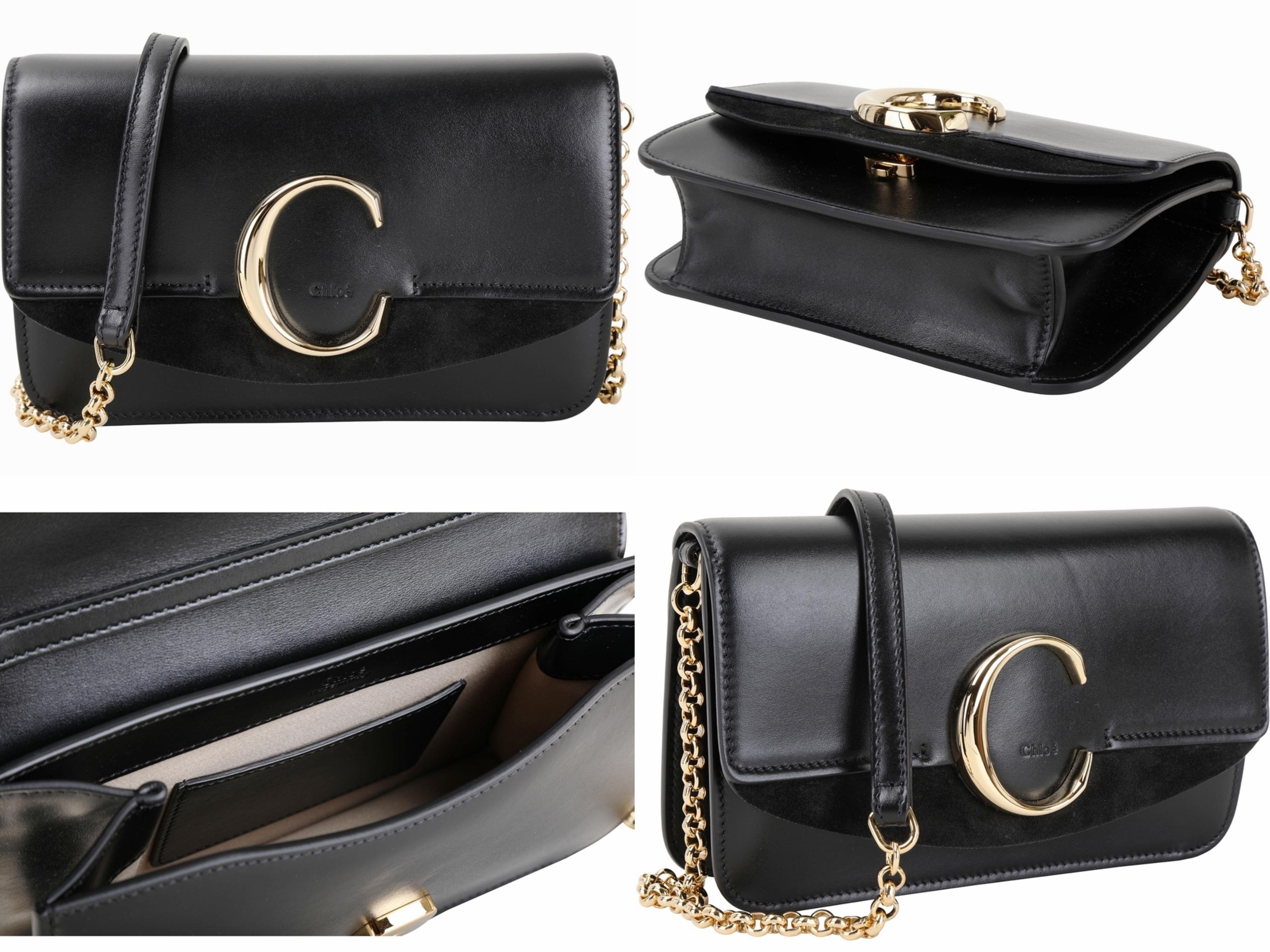 火熱人氣IT Bag 的Chloe C包款系列,最大特色正中央的搶眼「C」字經典金屬配件