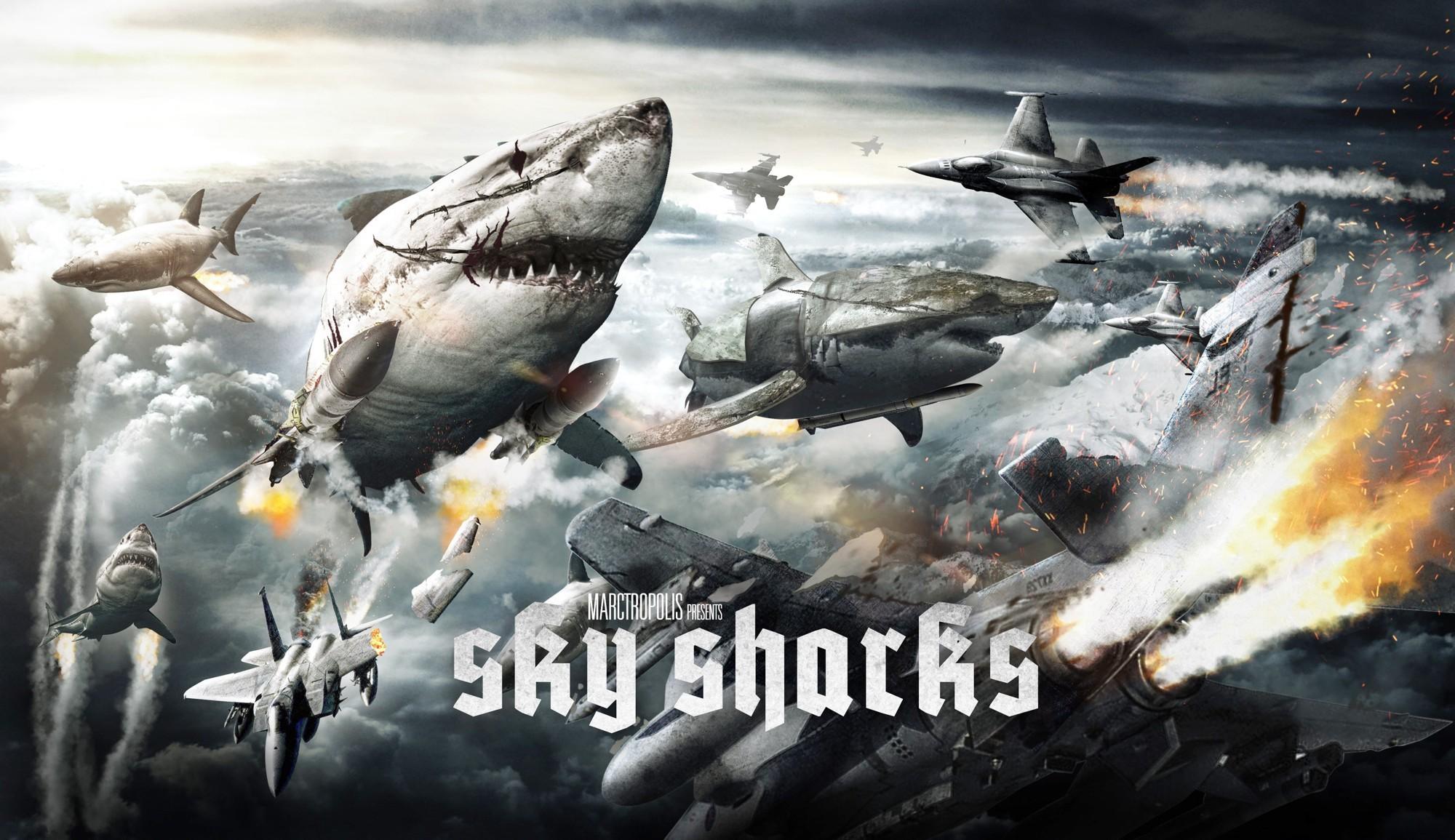 天空鯊:納粹終極武器_海報