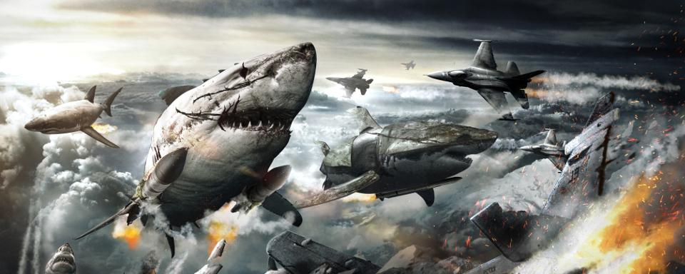 深埋在極冰之下的變種鯊魚成為美方最新「武器系統」?!