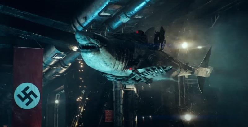 殭屍納粹X變種鯊魚!比風飛鯊還要荒唐