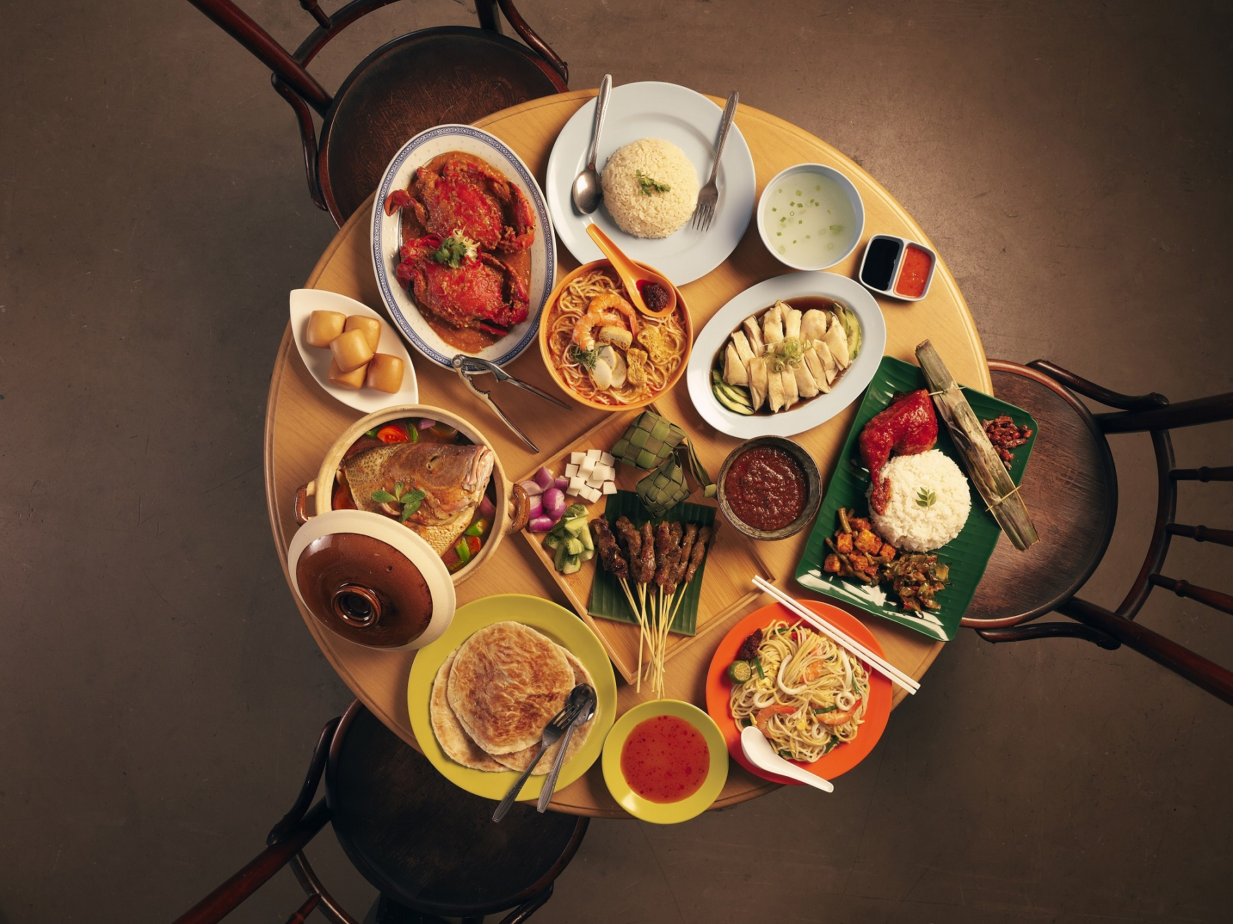 新加坡擁有多元獨特的美食文化,一直以來都是美食主義者匯聚的天堂。(圖/新旅局)