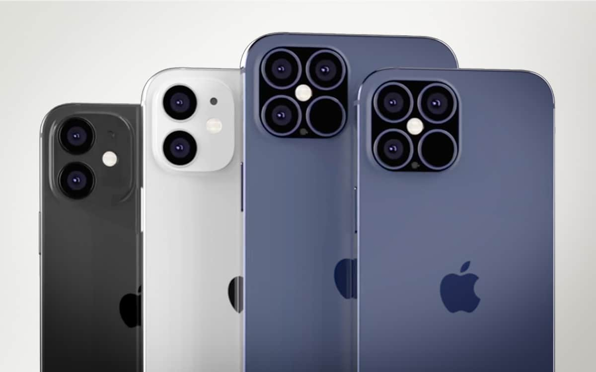 iPhone 12 renders