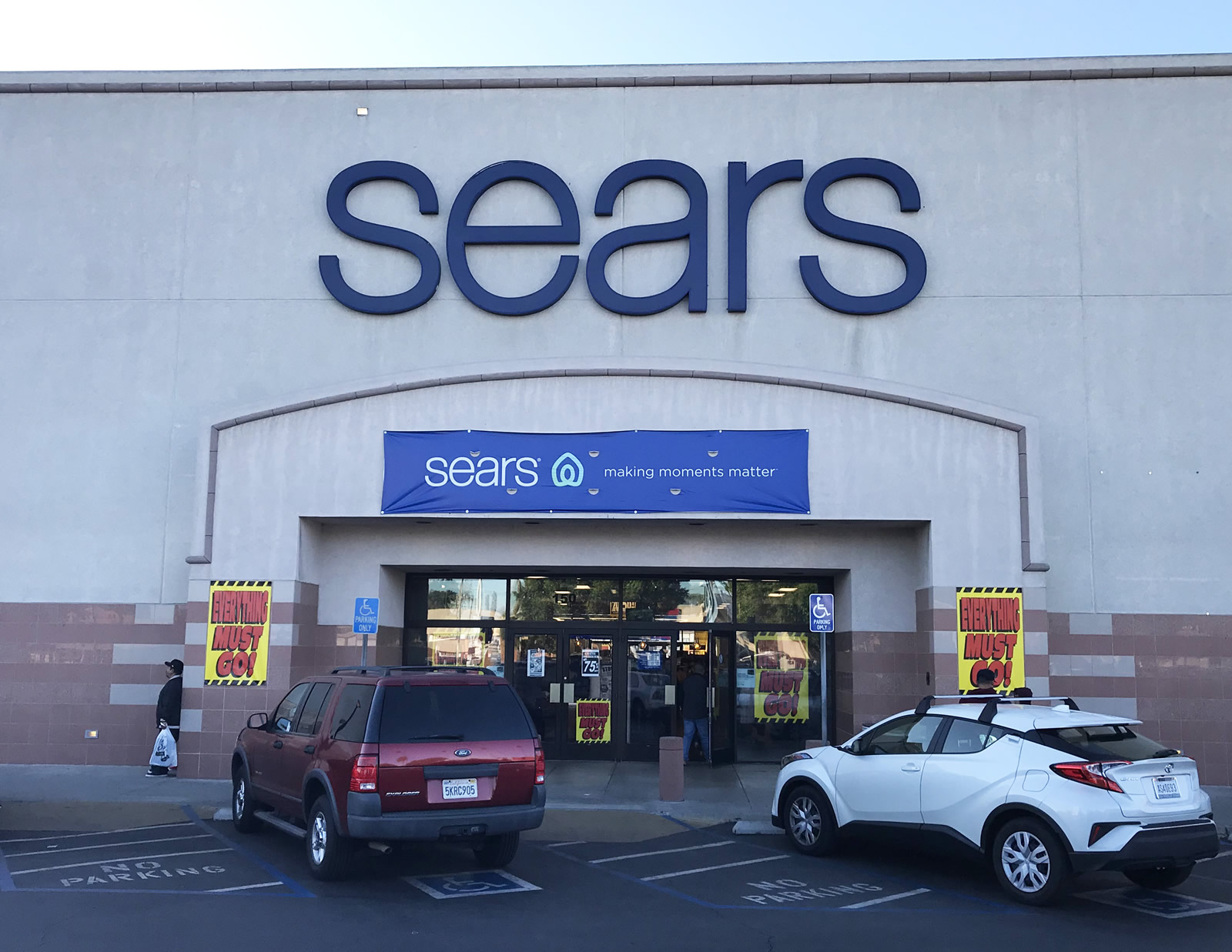 sears close
