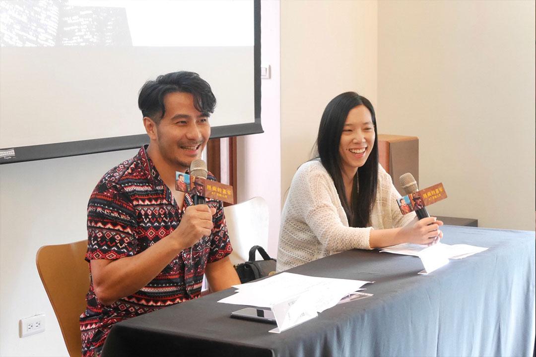 《隱藏的畫家》講座來賓提問郭彥甫創作契機