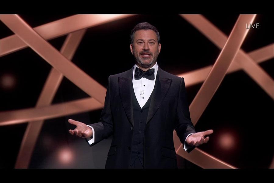 2020年艾美獎頒獎典禮畫面(來源:官方網站emmys.com)