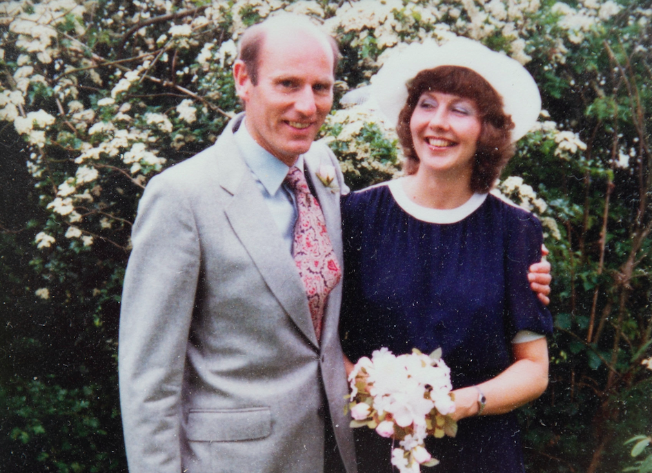 Tony Williams met Jo, a legal secretary, in a bar more than 35 years ago. (SWNS)