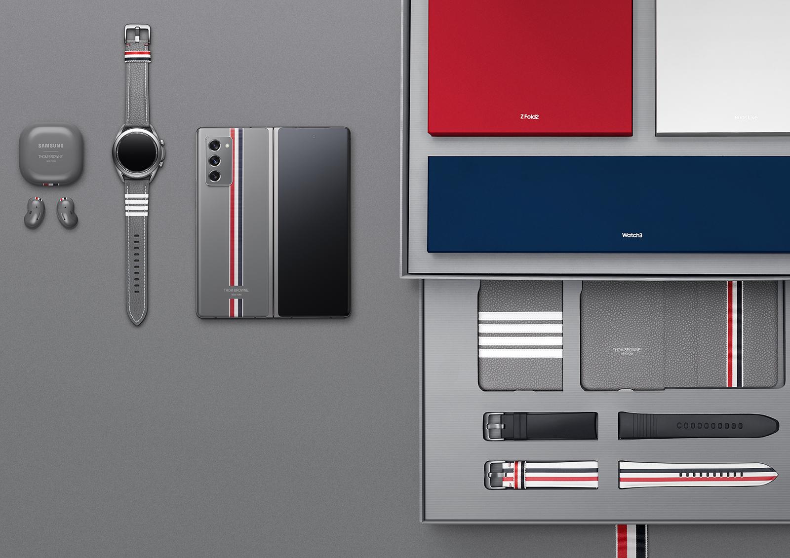 Samsung Galaxy Z Fold 2 Thom Browne