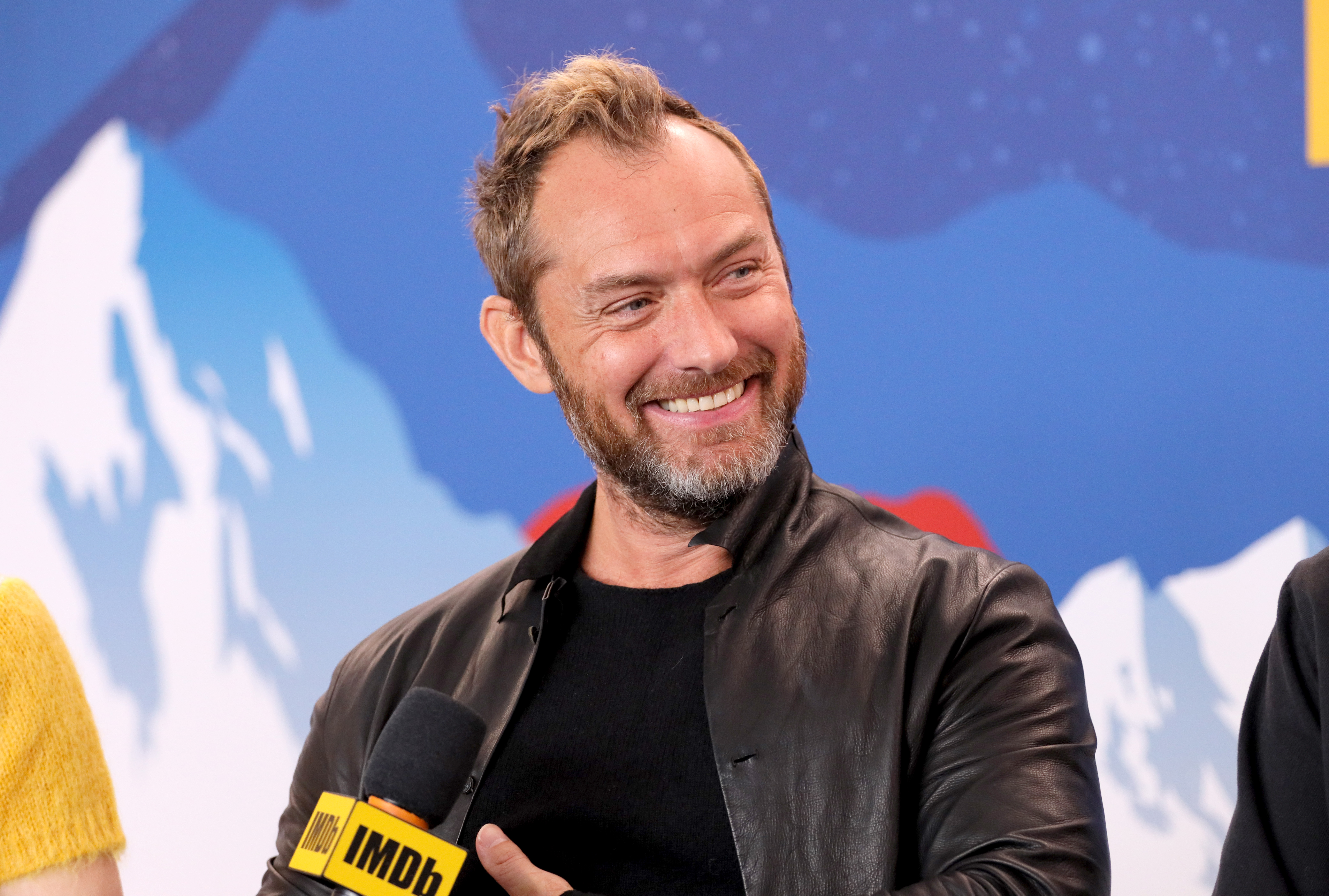 Jude Law of 'The Nest' attends the IMDb Studio at Acura Festival Village on location at the 2020 Sundance Film Festival - Day 3 on January 26, 2020 in Park City, Utah. (Photo by Rich Polk/Getty Images for IMDb)