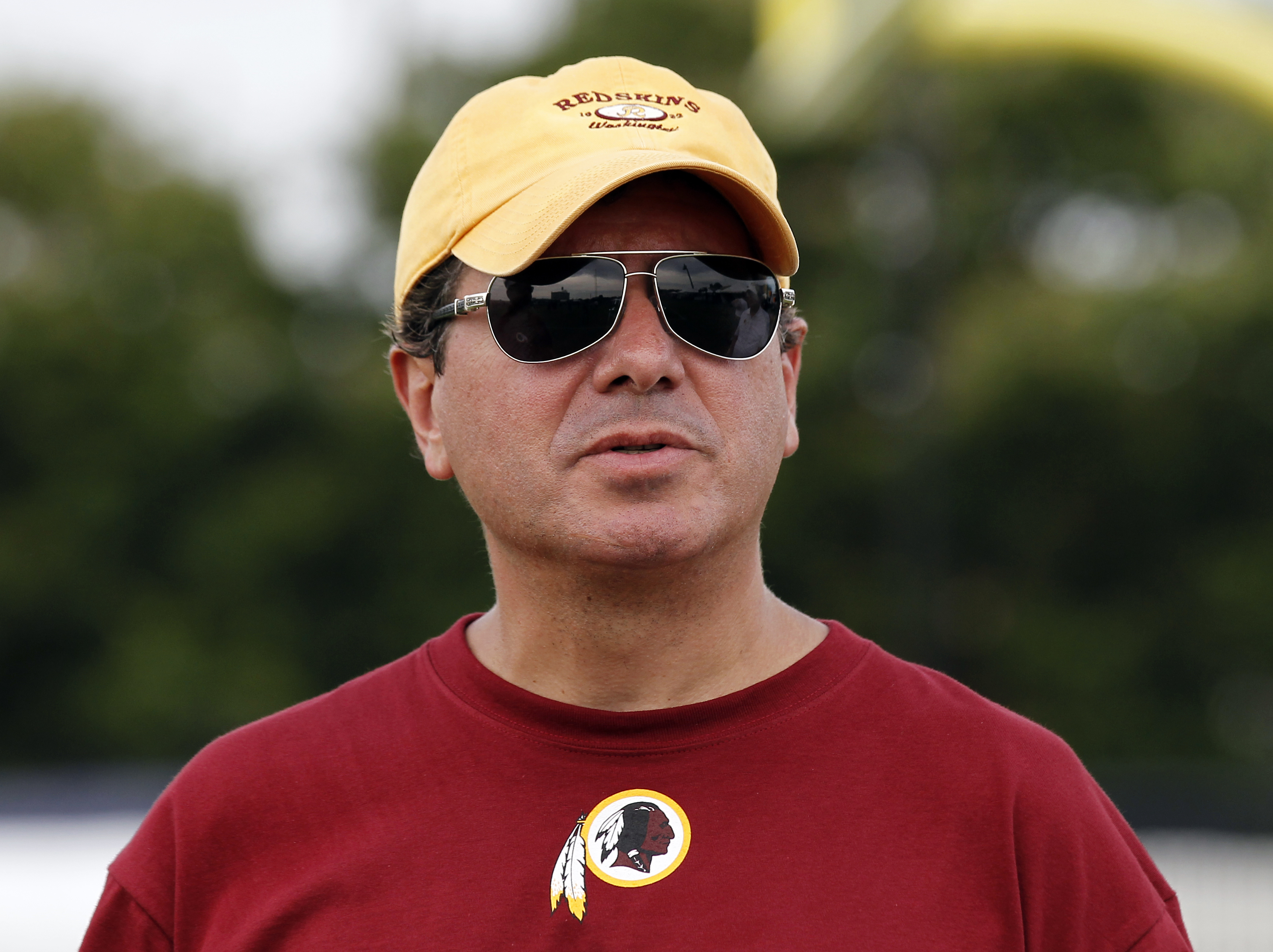 Dan Snyder has allegedly overseen and perhaps condoned a culture of misogyny and harassment as owner of the Washington Football Team. (AP Photo/Alex Brandon, File)