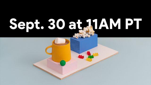 Google invite le 30 septembre