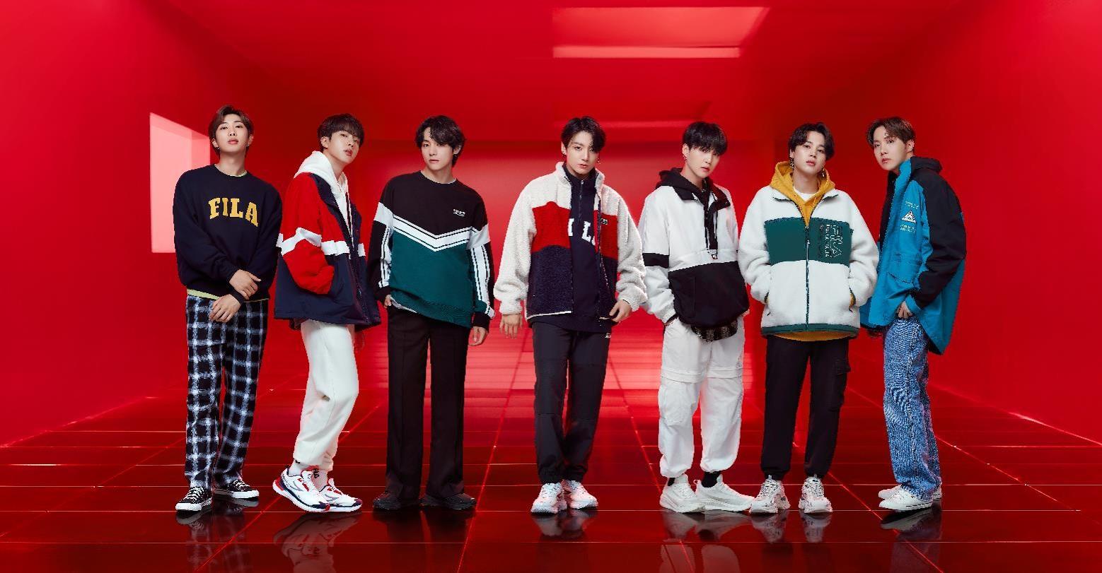 全球人氣偶像BTS防彈少年團代言系列