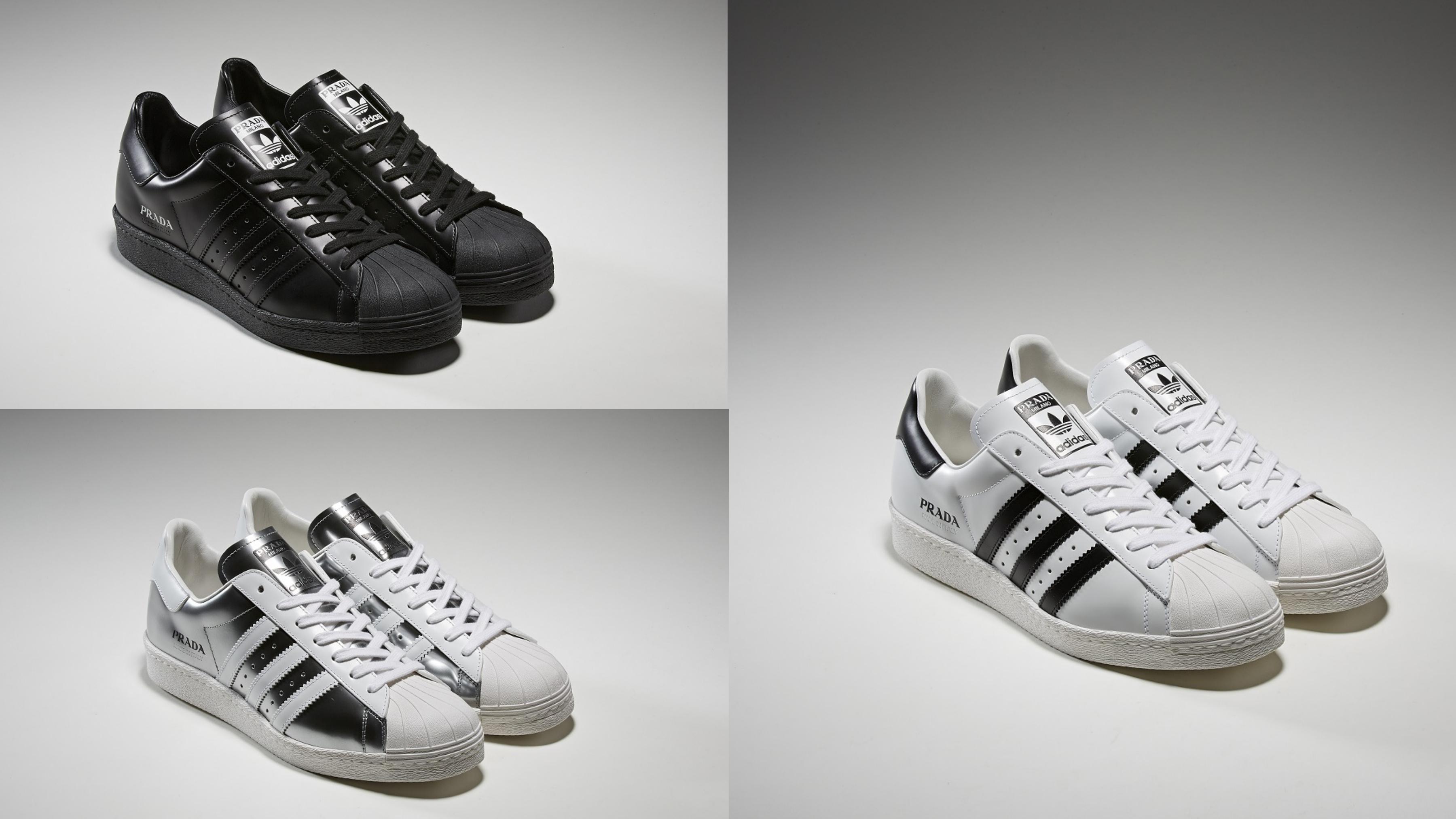 全新 Superstar聯名系列以三款優雅色系問世:質感純黑、經典黑白與時尚銀白