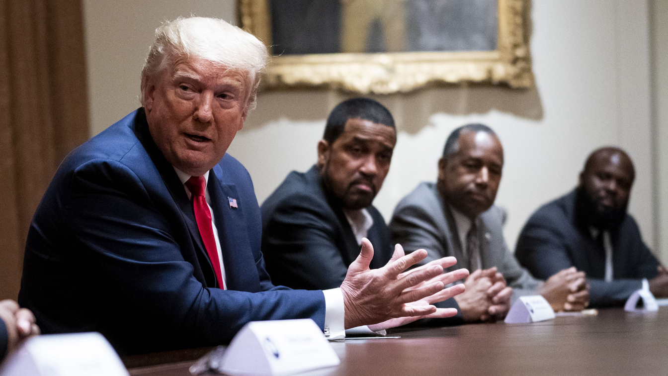 As Trump courts Black voters, critics see a depression strategy