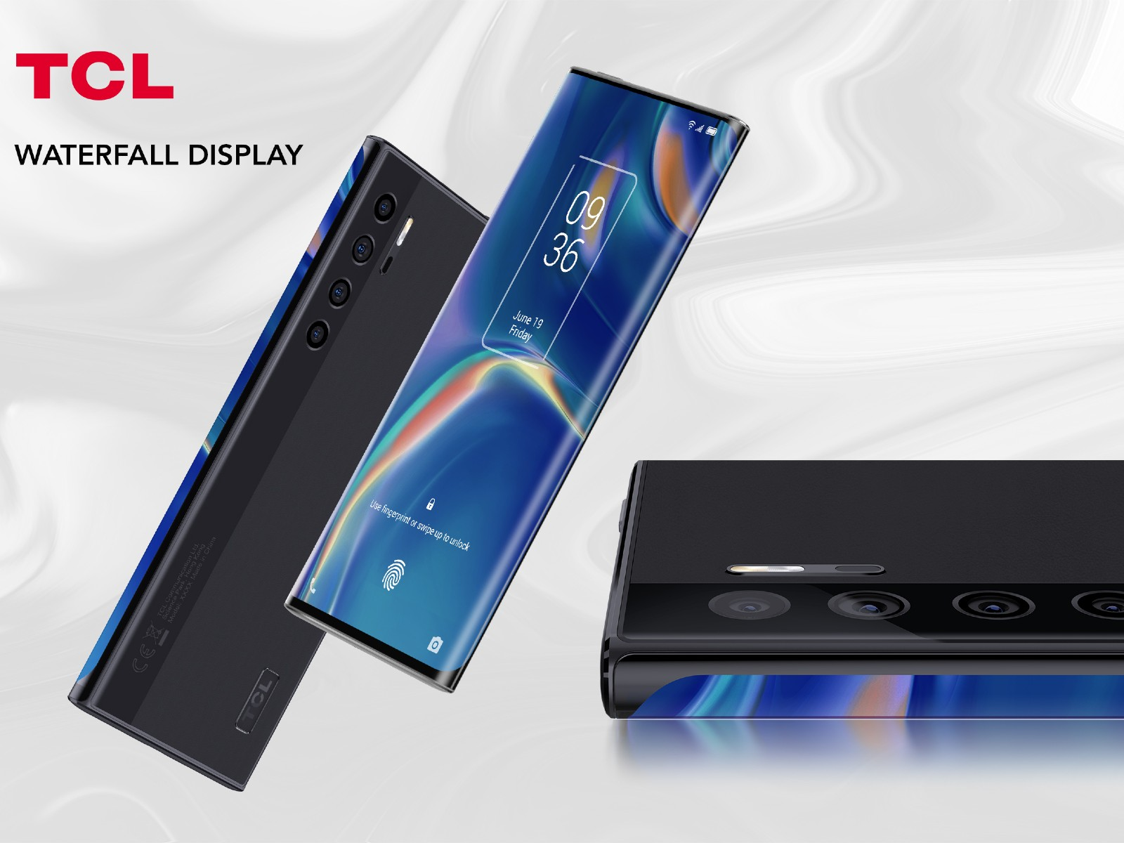 TCL waterfall display