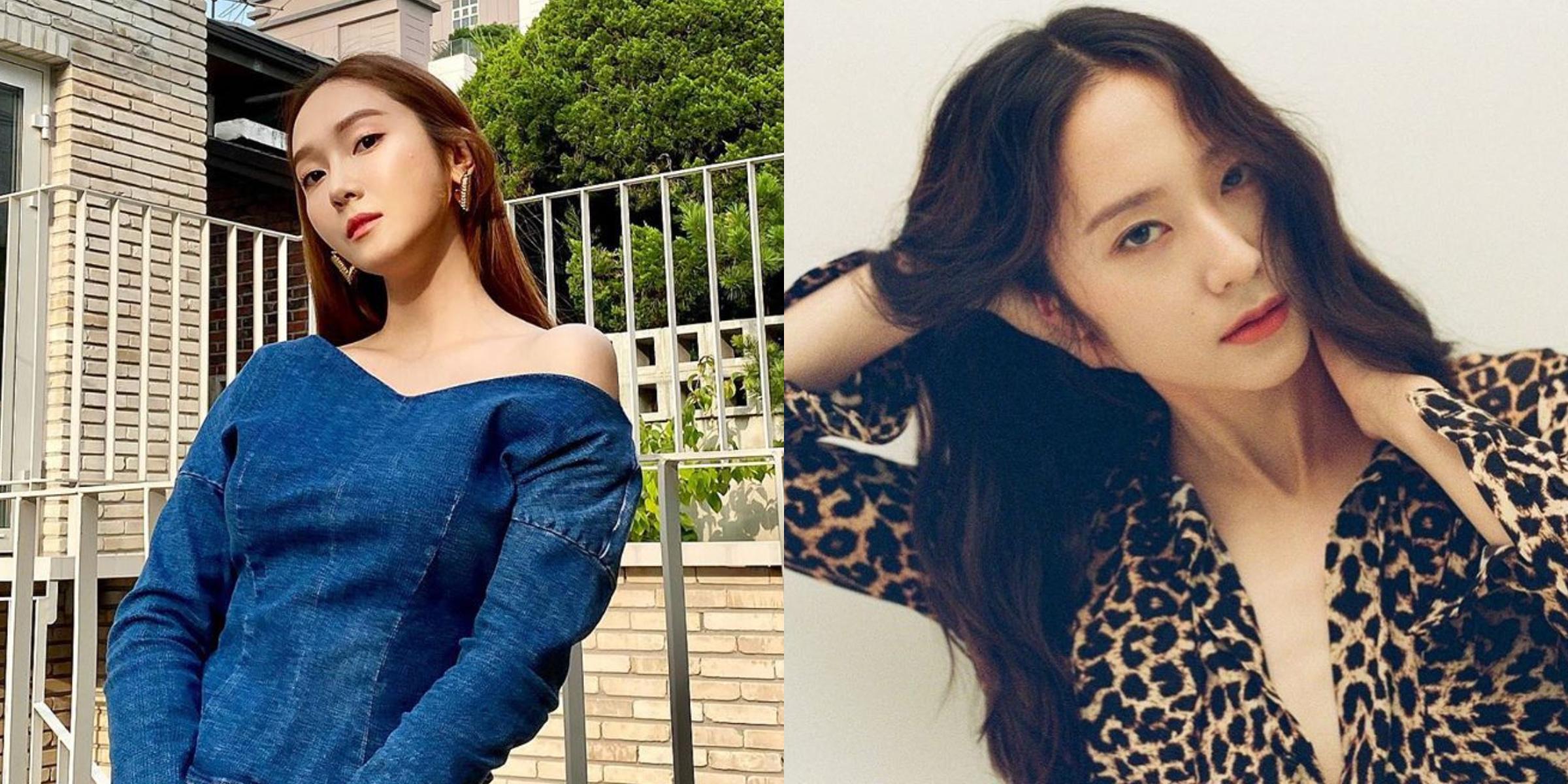鄭氏姊妹鄭秀妍Jessica和鄭秀晶Krystal天鵝頸養成術!
