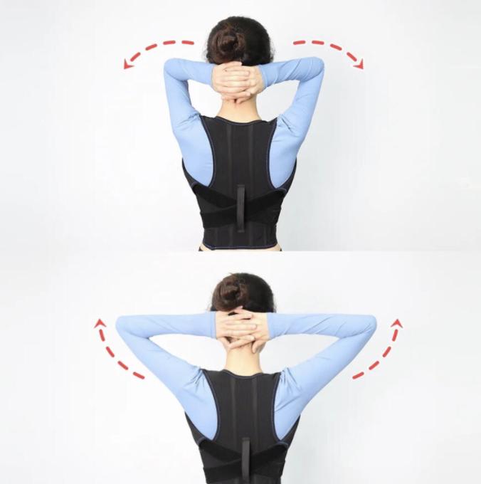 記得做得時候要放送肩頸,保持順暢呼吸,眼睛直視前方。