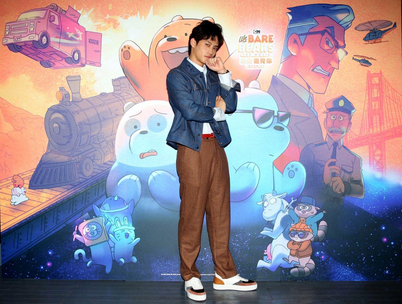 陽光暖男范少勳化「聲」嚴峻警探直呼過癮,卡通頻道原創電影《熊熊遇見你電影超棒DER》
