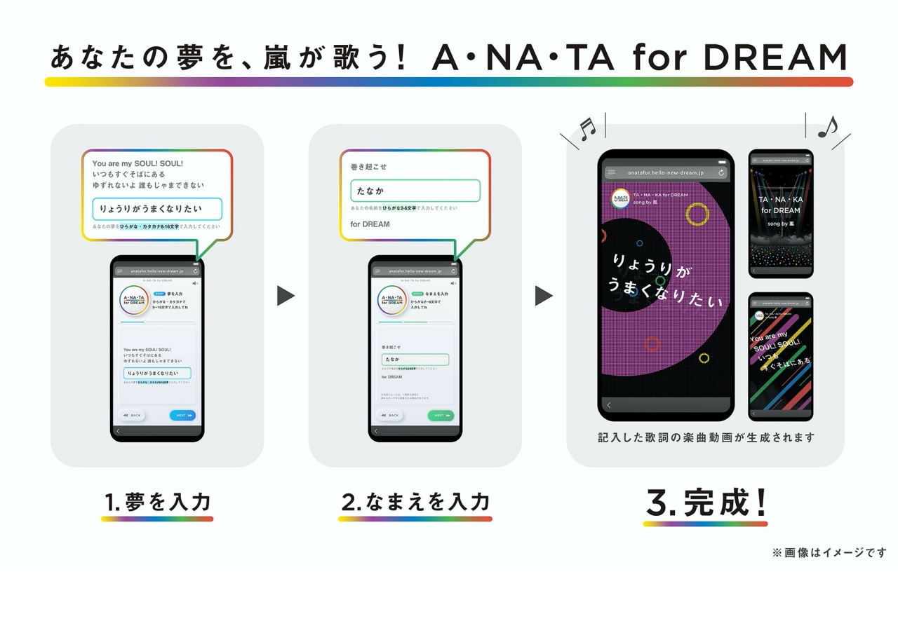 A・NA・TA for DREAM