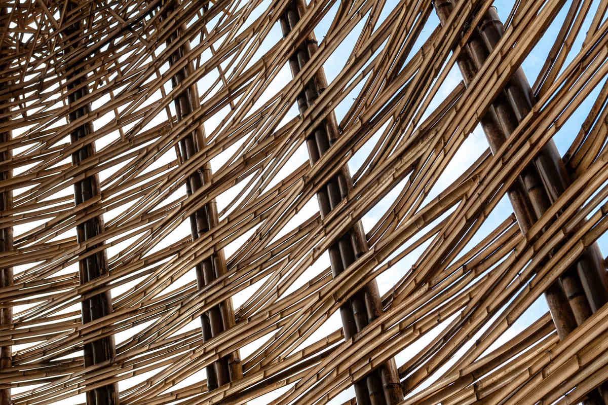 以「竹」為媒材、「構築城市」為主題(圖片來源:桃園市政府)