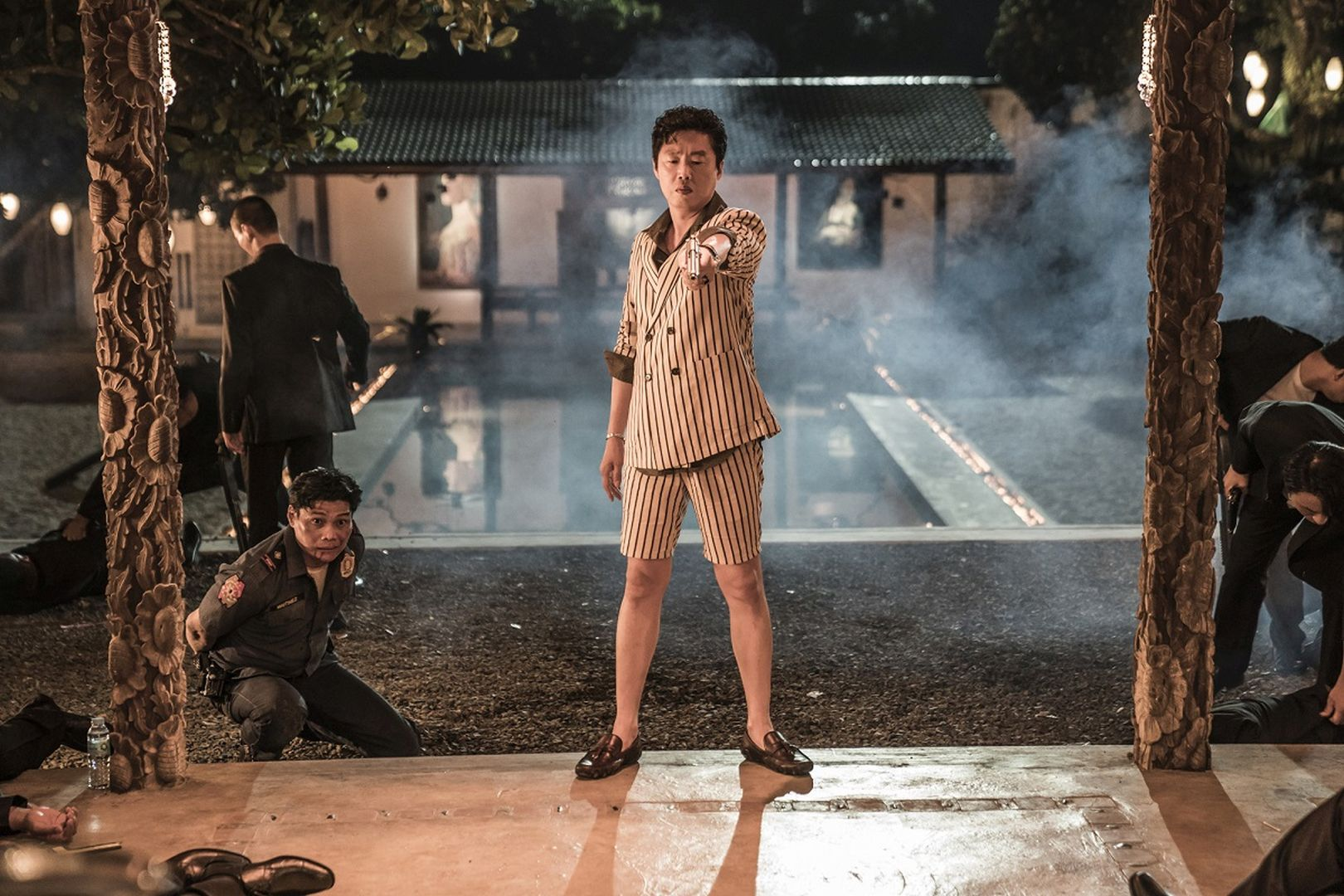 《大叔》金熙元劇中飾演犯罪組織殺手「派翠克」
