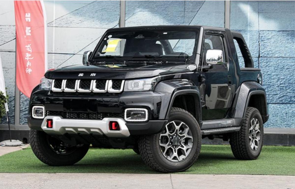 北汽發表越野版 F40 新車,卻被認為外觀抄襲 Jeep、內裝致敬賓士。