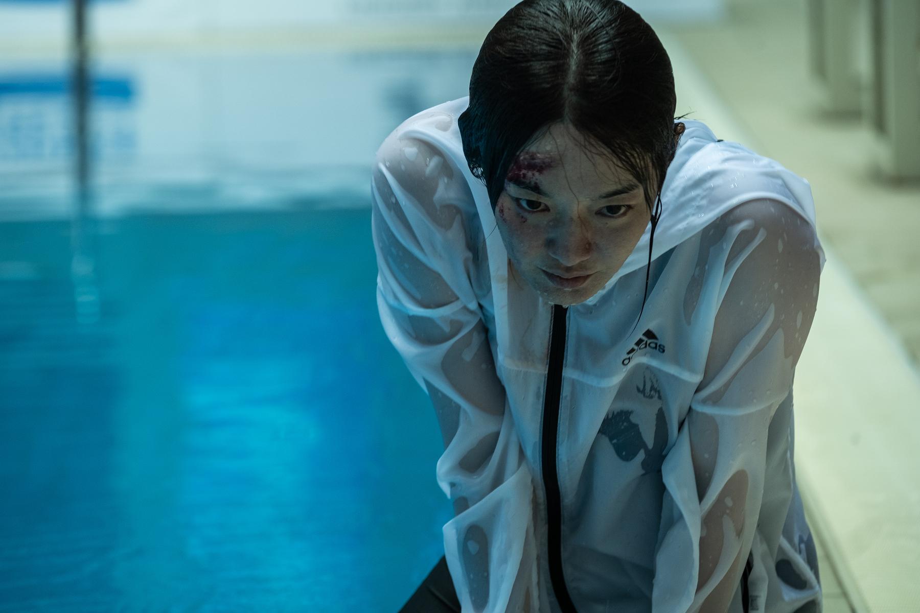 申敏兒不僅擁有漂亮的臉龐,也能呈現出讓人恐懼的眼神,吸引製作方邀約她主演本片