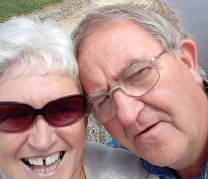 Retired Alun and Elaine Rees switched on their 16' Bush TV every morning, unaware it wiped out their whole village's WiFi. (Wales News)