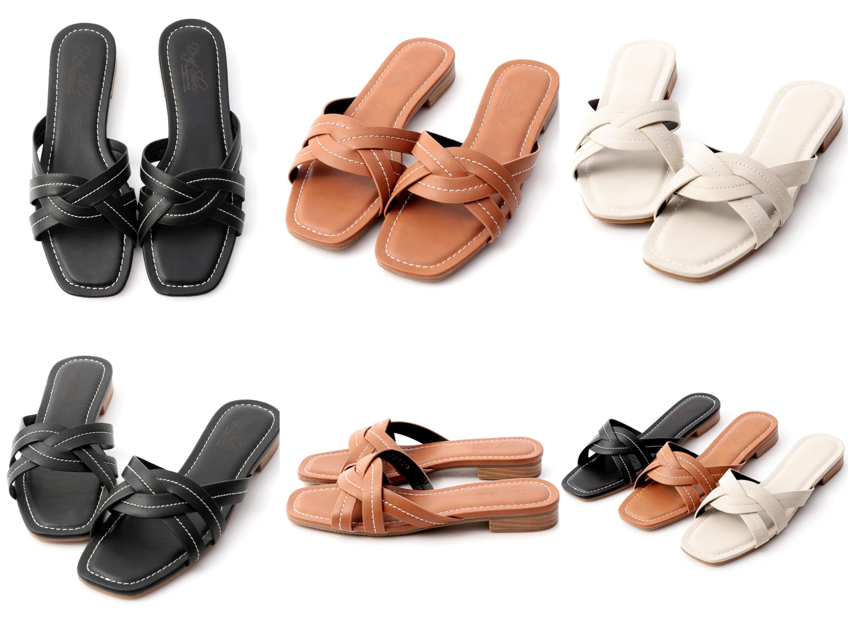 雙層交叉能提升鞋面的質感,立體車線設計巧妙點綴豐富整體感